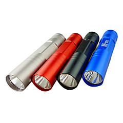 1 portable en mode lampe de poche LED (1xAA, couleur aléatoire)