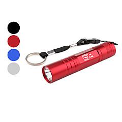 hymyilevä hai ss-5004a kannettava 1-tilassa LED-taskulamppu (1xAA, eri värejä)