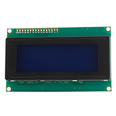 2004 20x4 vita tecken LCD display-modul