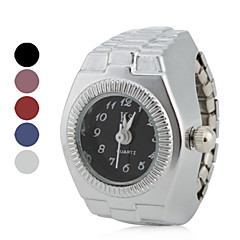 Women's Classic Style Alloy Analog Quartz Ring Watch (Assorted Colors)
