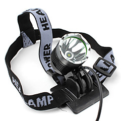Lampes Torches LED / Lampes frontales (Rechargeable / Tactique / diri) LED 3 Mode 1200 Lumens Cree XM-L T6 18650 SmallSun