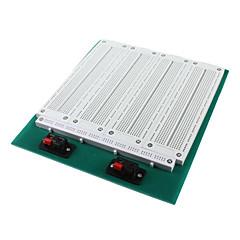 SYB-118t 4-in-1-merge forrasztás prototípus breadboard fehér zöld