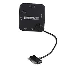 3-port USB2.0 hub med ms sd tf m2 kortlæser til Samsung Galaxy Tab