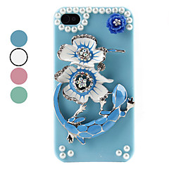 Gecko Pattern Hard Case for iPhone 4 and 4S (Assorted Colors)