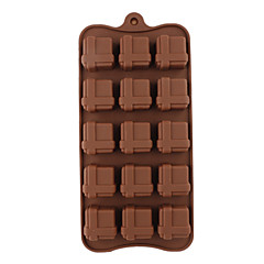 Silicone Gift Box Shaped Sugarcraft Mold for Candy/Cookie/Jelly/Chocolate
