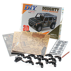 57 Pieces DIY 3D Puzzle Doughty SUV (difficulty 4 of 5)