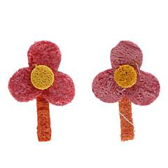 czyszczenie zębów kształt kwiat zielony luffy zwierzątko zabawki (2-częściowy)