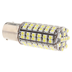 1156 5W 96x3528 SMD 280LM Natural White Light LED Bulb för Car dimljus (12V)