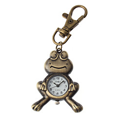 Unisex Frog Design Alloy Analog Quartz Keychain Watch (Bronze) Cool Watches Unique Watches