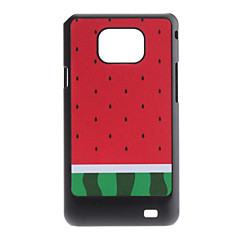 Flash Design Vattenmelon Mönster Hard Case för Samsung Galaxy S2 I9100