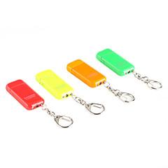 Porte-clés en métal léger Couleur Fluorescence gaz avec meule (couleur aléatoire)