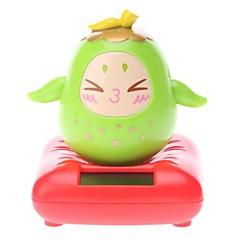 Solar Powered Pear Kopfschütteln Desktop-Toy (Random Color)