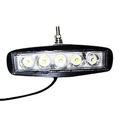15W Square 5 de luz LED de trabajo