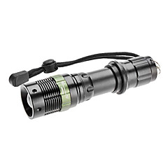 S809ズーム3モードCREE XR-E Q5 LEDの懐中電灯(200LM、1X18650)