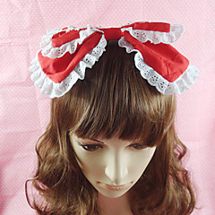 Handmade White Lace Cotton 25cm Sweet Lolita Headband(4 Colors)