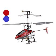 4-kanálový vrtulník gyro dálkové ovládání (model: 346 modrá / červená)