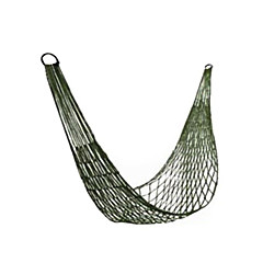 Thicken Meshy Green Camping Hammock 100KG Bearing