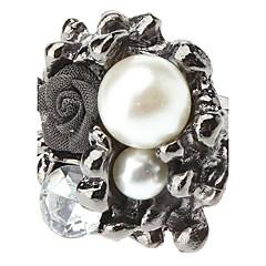 z&X® rose delle donne perla anello aperto