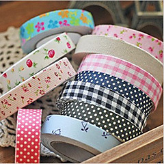 Floral Cotton Adhesive Tape (Ramdon Color)