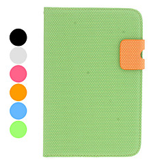 Dots Texture PU Leather Case with Stand and Card Slot for Samsung Galaxy Tab 2 7.0 P3100 and Tab 7.0 P6200 (Assorted Colors)