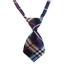 patrón de cuadros delicada corbata para mascotas perros gatos (cuello: 26-38cm)