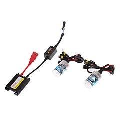 12V 35W 9006 HID Xenon Lamp Conversion Kit Set (Super Slim Ballast)