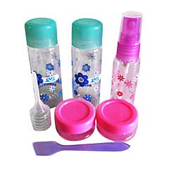 Convenient Nail Art Travel Kits(5PCS Mini Empty Bottles +1 File)