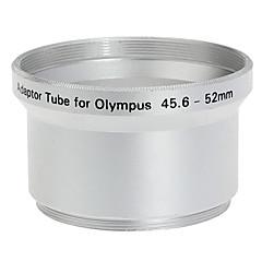 52mm Tube Adaptateur pour Olympus C-760/C-765/C-770/SP-500 Argent