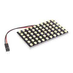 T10/BA9S/Festoon 4W 60x3528SMD Natural White Light LED lamp voor in de auto leeslamp (12V)
