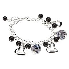 Love Ball Drop Glaze Bracelet