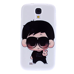 Sunglasses Pattern Soft TPU Case for Samsung Galaxy S4 I9500