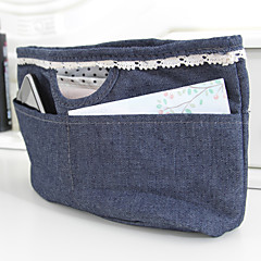 23x8x15cm Blue Cowboy Jewelry Storage Bag in Bag
