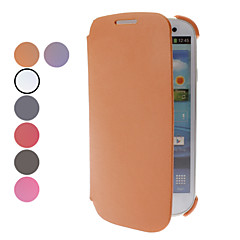 PU Leather Full Body Case for Samsung Galaxy S3 I9300 (eri värejä)
