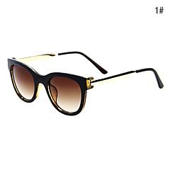 unisexes UV400 métalliques rondes pleine forme lunettes de soleil monture (protection UV)