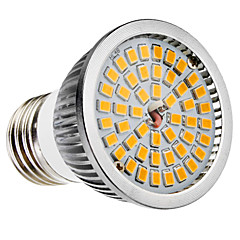 6W E26/E27 B22 LED-spotlights MR16 48 SMD 2835 650 LM Varmvit Kallvit AC 100-240 V