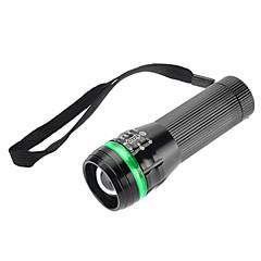 LED Flashlights / Handheld Flashlights LED 1 Mode 350 Lumens Adjustable Focus / Waterproof / Rechargeable Luminus SST-50 18650 / AAA