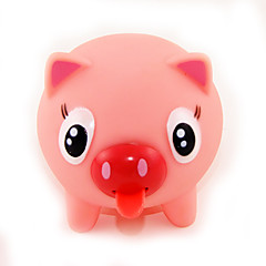 Squeezable Sounding Stretchy Tongue Pink Pig Tongue Call Bell Practical Joke