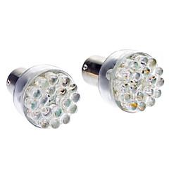 BA15S (1156) Carro Branco 2W 6000-6500 Luz de Sinal de Direcção Luz de Travão