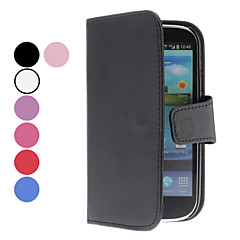 Solid Color PU Leather Case with Card Slot for Samsung Galaxy S3 I9300 (Assorted Colors)