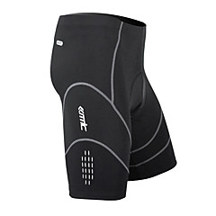 SANTIC Bike/Cycling Shorts / Padded Shorts / Bottoms Men's Breathable / Quick Dry / Wearable / 3D Pad Spandex / Nylon / Coolmax Stripe