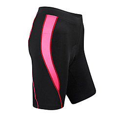 SANTIC Bike/Cycling Shorts / Padded Shorts / Bottoms Women's Breathable / Quick Dry / Wearable Spandex / Nylon / Coolmax StripePink /