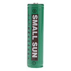 Small Sun 18650 3.7V 2400mAh Rechargeable Li-ion Batteries