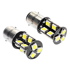1142/S25 3.5W 19x5050SMD 6000-6500K 250LM LED White Light Car Bremsen Lampen (DC 12V, 1-Pair)