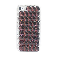 Fish Scales Crystal Coverd Back Case for iPhone 4/4S