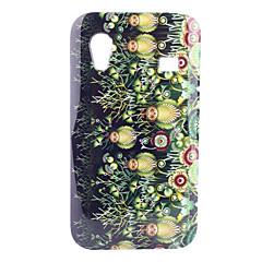 Gräs och Owl Mönster Hard Case för Samsung Galaxy Ace S5830