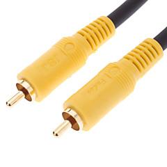 jsj® 10m 32.8ft RCA Férfi Nő video kábel fekete dvd házimozi