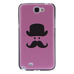 Mr. Beard Pattern Hard Case for Samsung Galaxy Note2 N7100