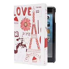 Flower Built Eiffel Case w/ Stand for iPad mini 3, iPad mini 2, iPad mini