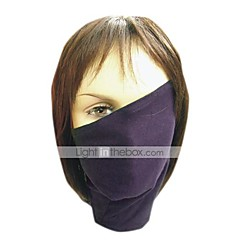 Mask Inspired by Naruto Hatake Kakashi Anime Cosplay Accessories Mask Black Polyester Male