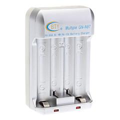 AA AAA 배터리 실버 BTY GN-N97 배터리 충전기